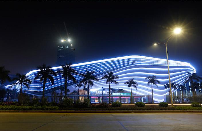 会议中心夜景