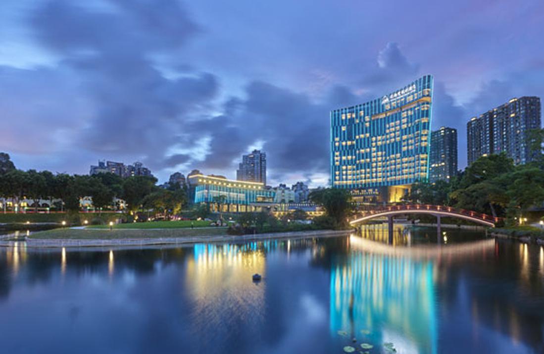 会议酒店夜景
