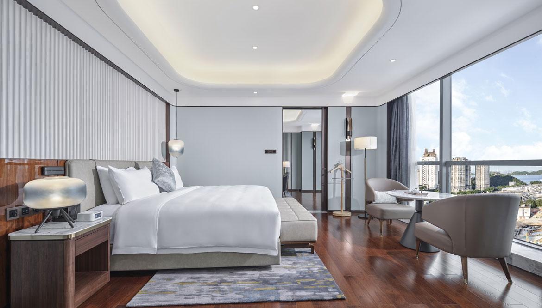 高级套房卧室